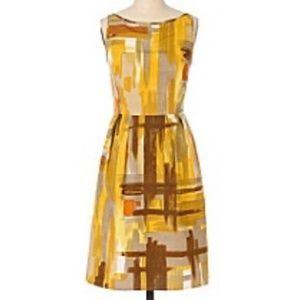 Tabitha for Anthropologie Brushstroke Dress